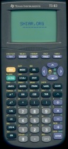 TI-83 2nd design
